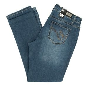Earl Jeans Boyfriend Patches Crest Star 10 32X30